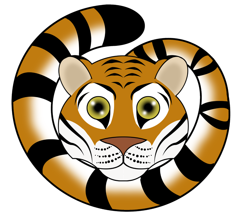 Transparent Tiger Icon image #12808