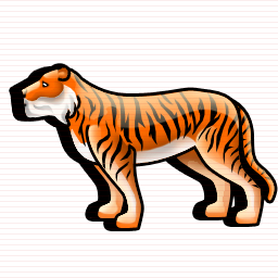 Tiger Save Icon Format image #12821