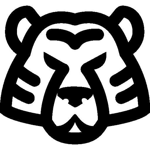 Drawing Icon Tiger image #12813