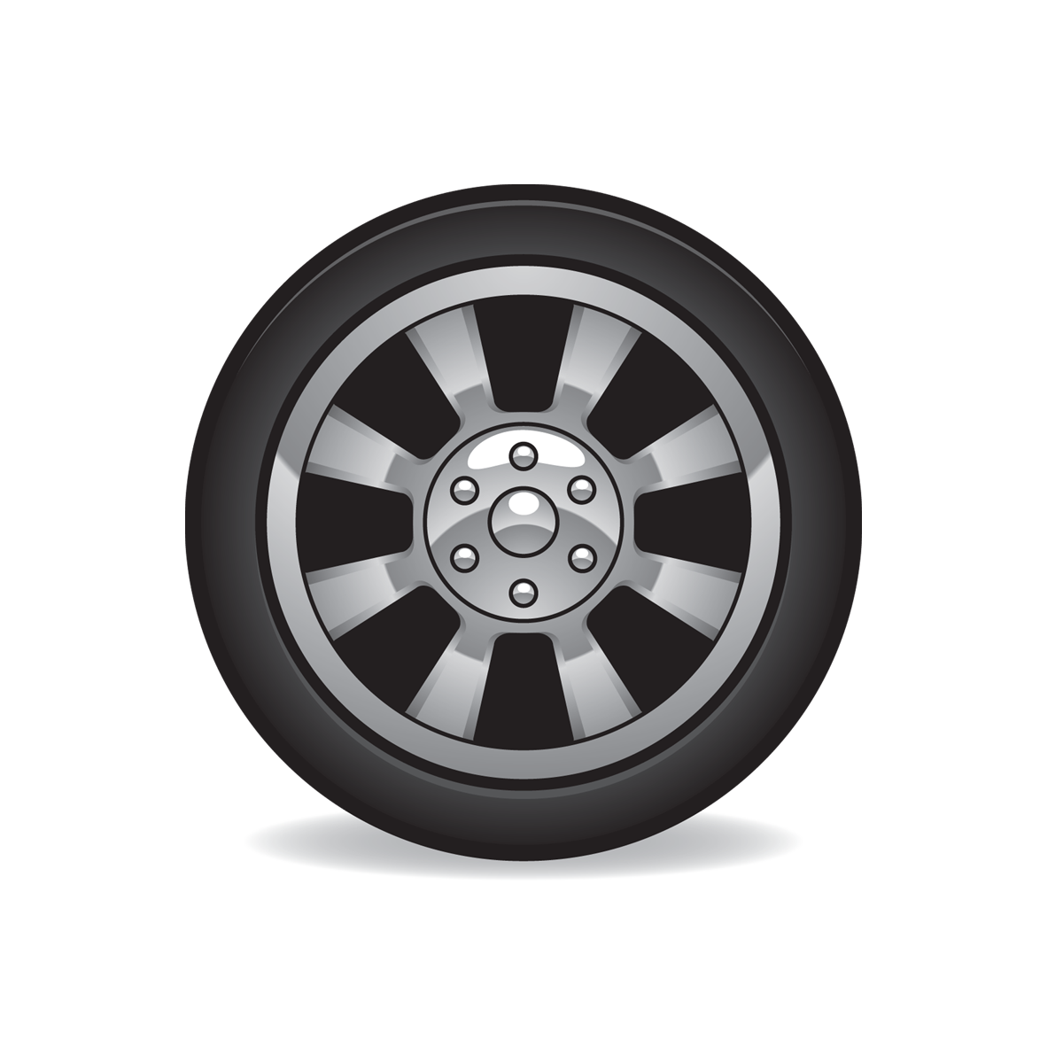 Tire Icon Full Size | Free Images at Clkerm  vector clip art