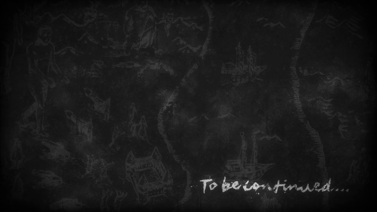 To Be Continued On Blackboard Background image #47210