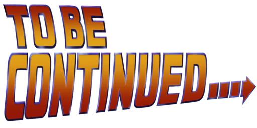 To Be Continued Text Symbol image #47198