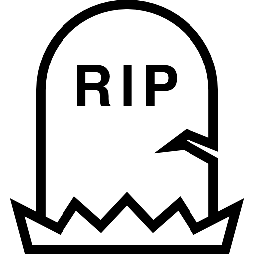 Tombstone RIP icon png