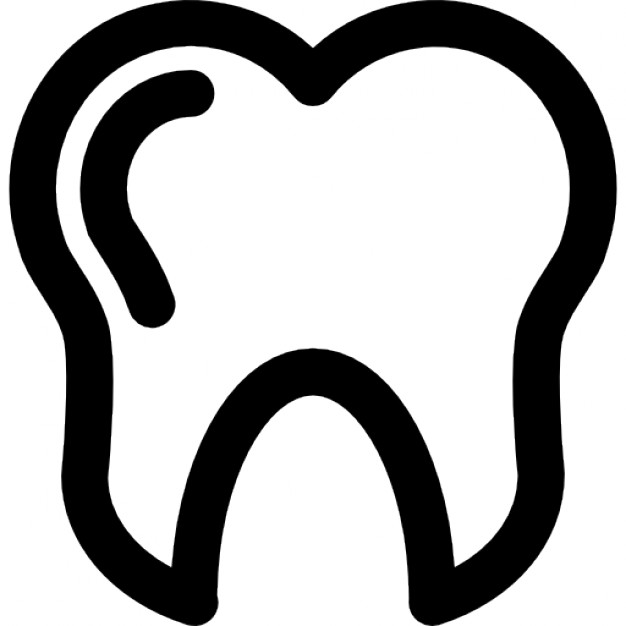 Svg Tooth Icon image #30124