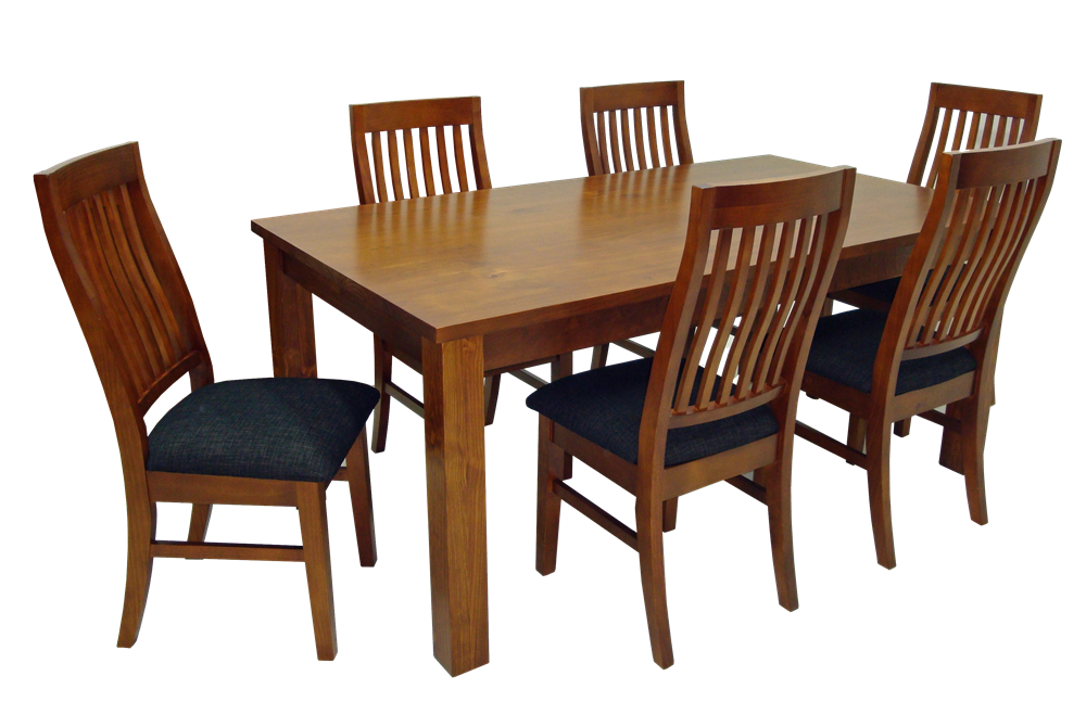 top view dining Table dark colored png