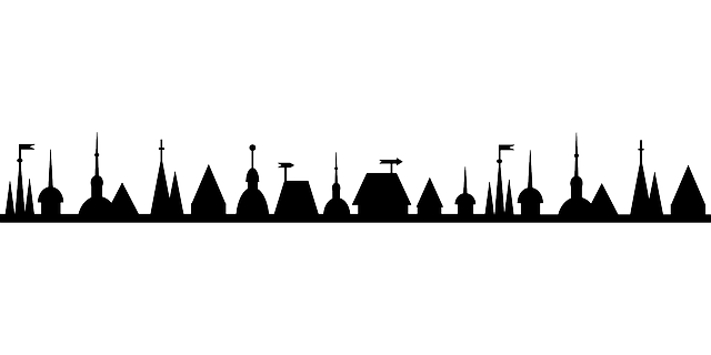 Town Silhouette Png