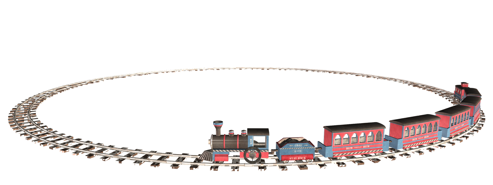 PNG Transparent Toy Train image #31586