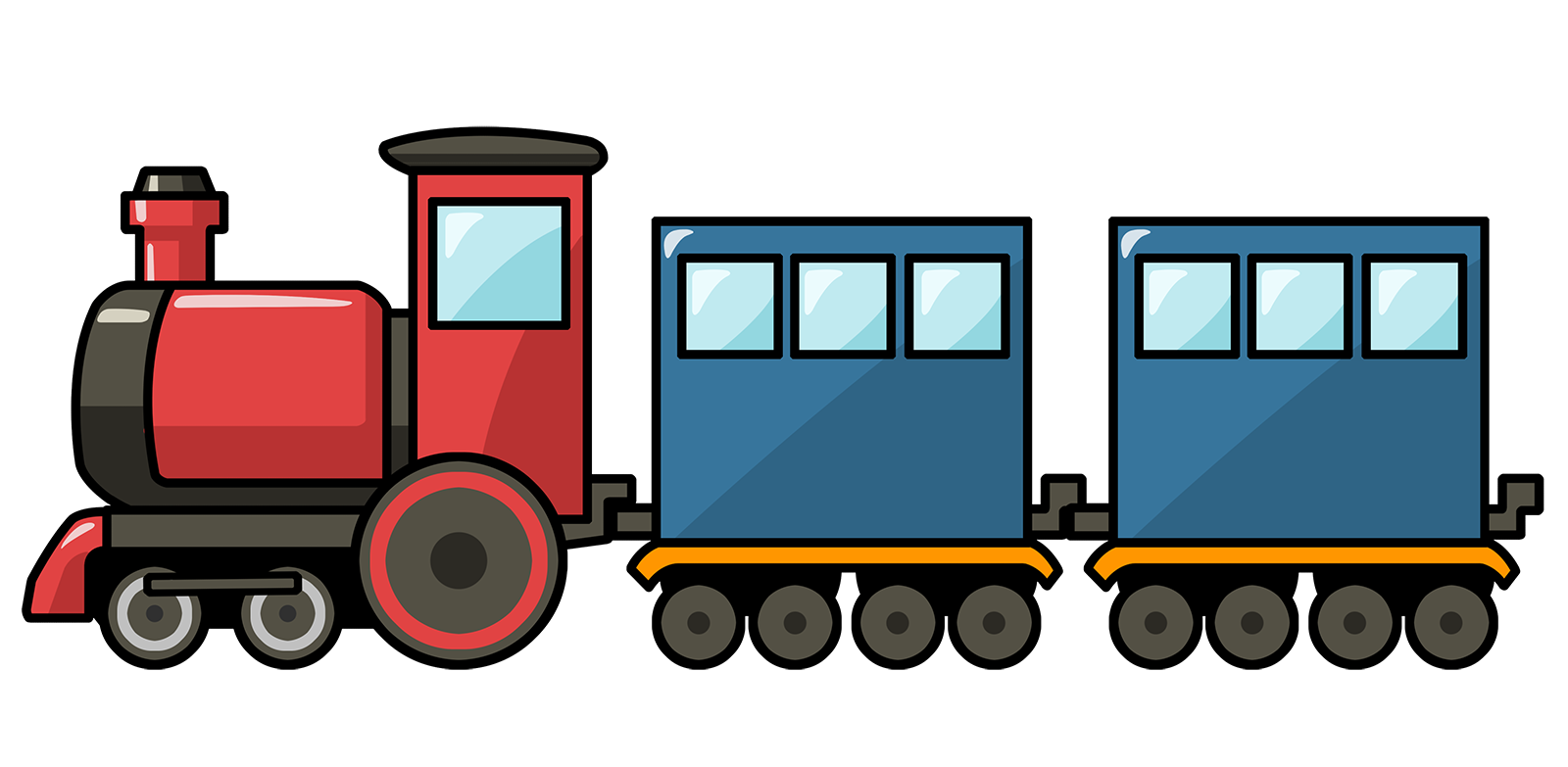 Clipart Toy Train Free Pictures image #31610