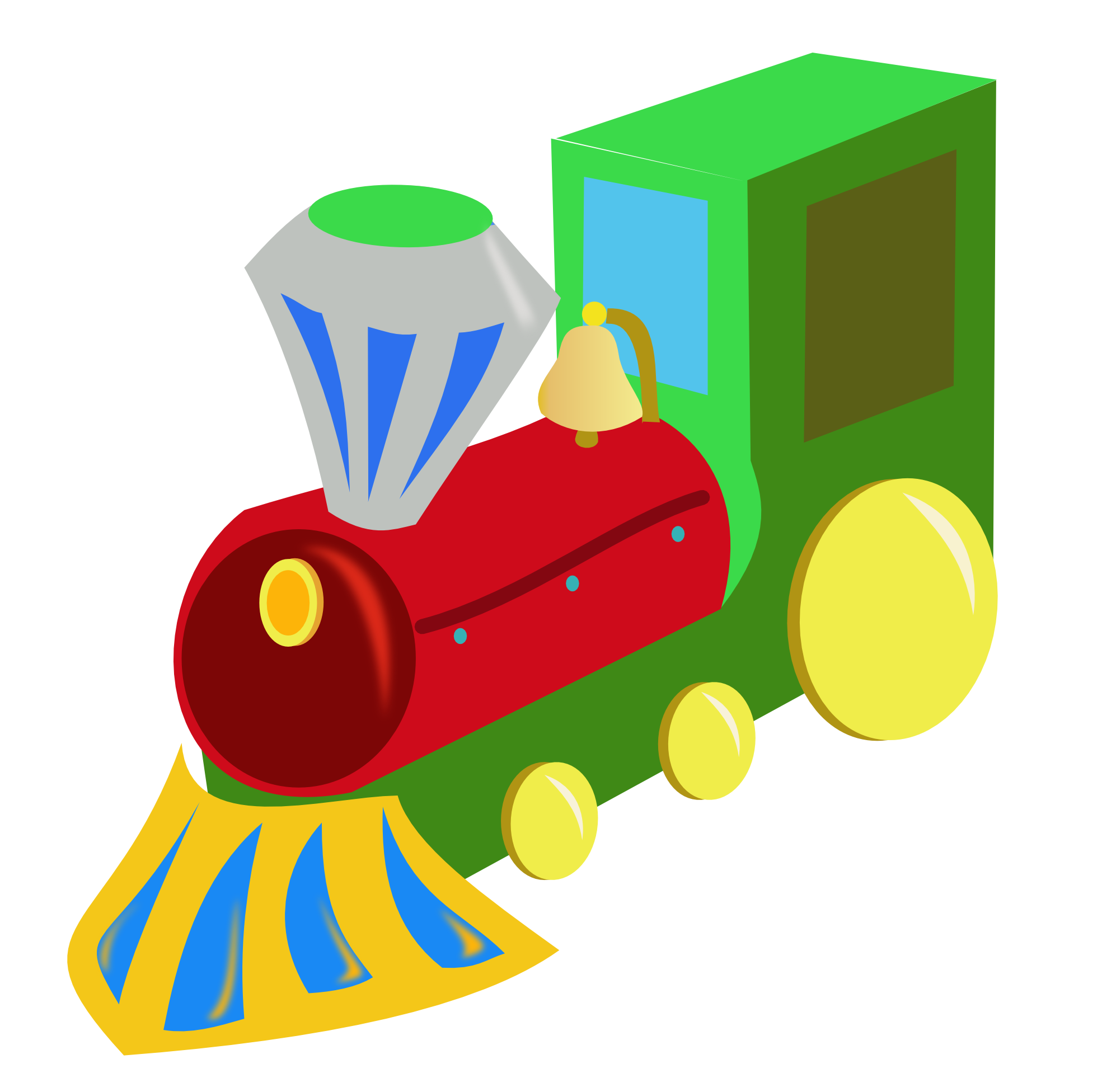 Download Toy Train Free PNG image #31595