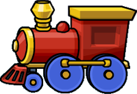 Toy Train Clip Art image #31598