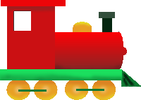 Toy Train Png Clipart image #31599
