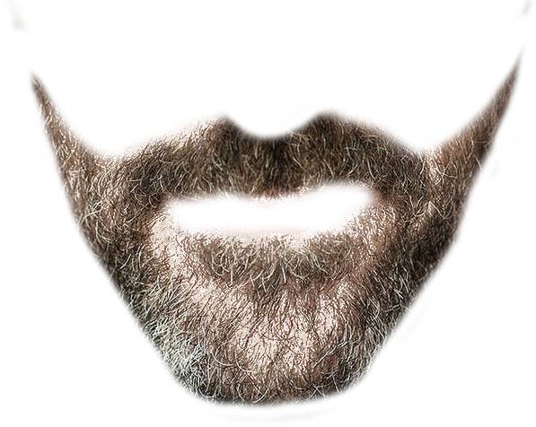 Transparent Beard image