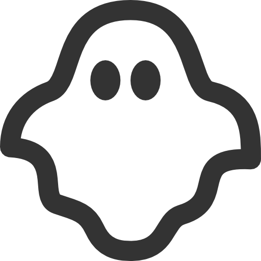 Transparent Ghost Clipart PNG Image image #36312