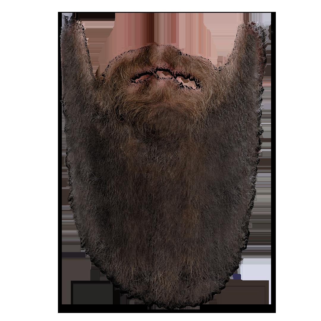 Transparent Long Beard