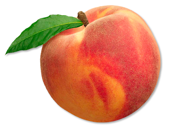 Transparent Peach Png image #41707
