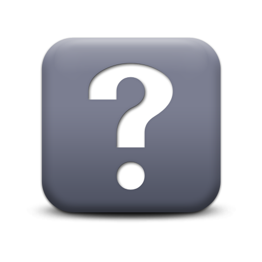 Transparent Question Mark Icon