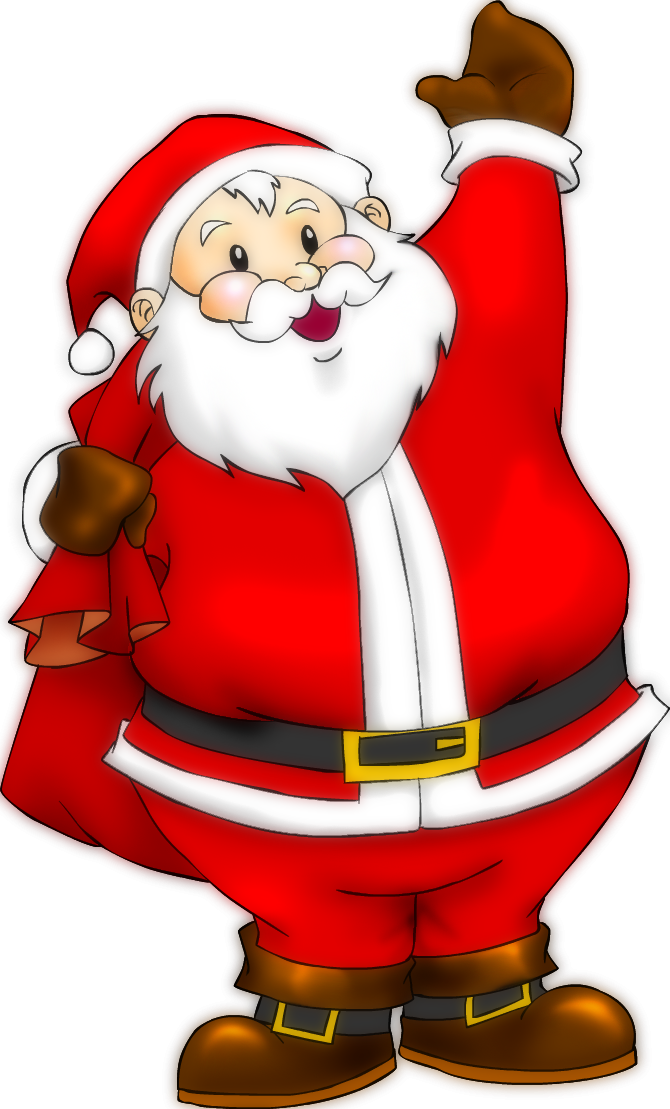 Transparent Santa Claus image #34002