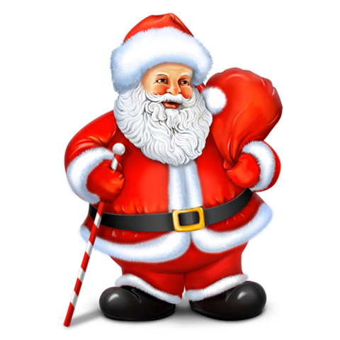 Transparent Santa Claus image #34004
