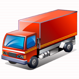 Transport, Transportation, Truck, Vehicle Icon image #37590