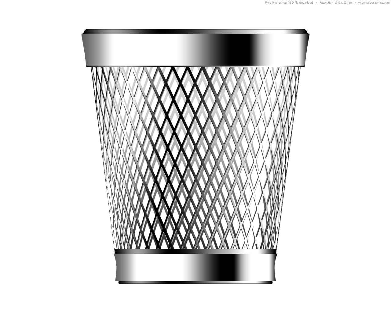 Trash Can Save Icon Format image #28673