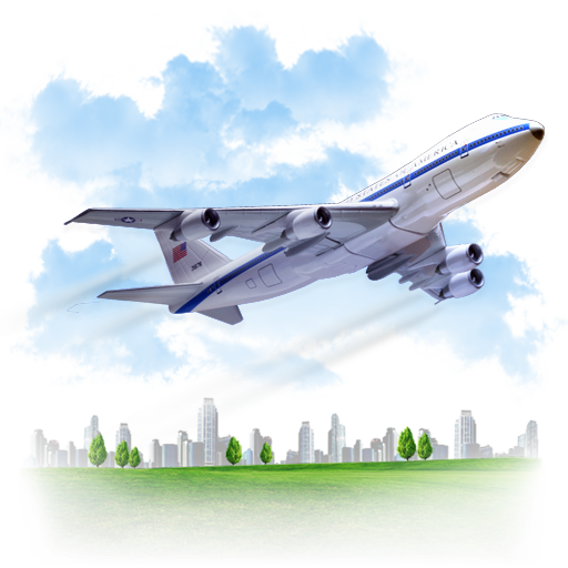 Travel Airplane Icon image #2514
