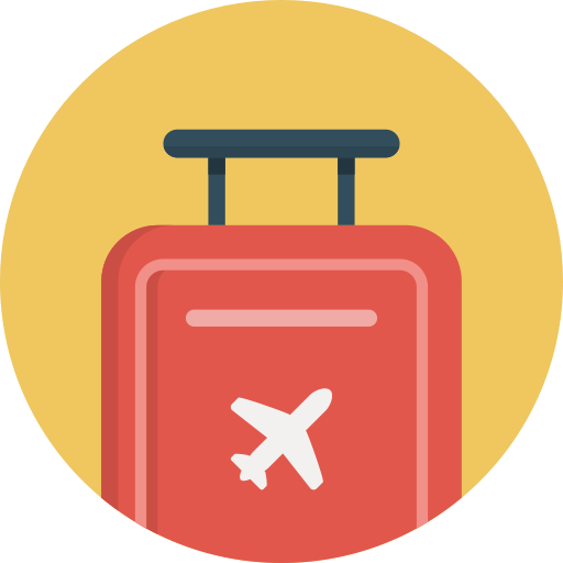 travel baggage icon png