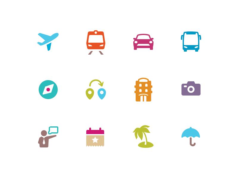 travel icons  187