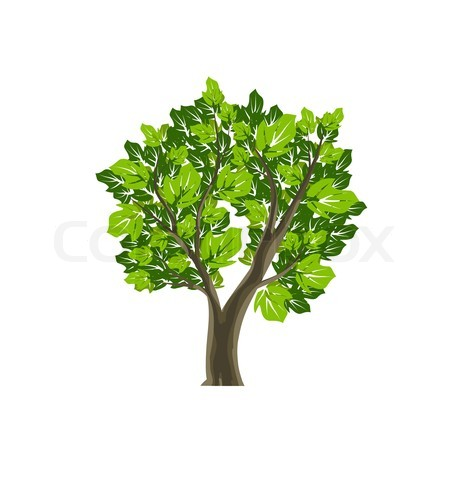 Tree Icon – Item 5 | Vector Magz | Free Download Vector Graphics image #1540