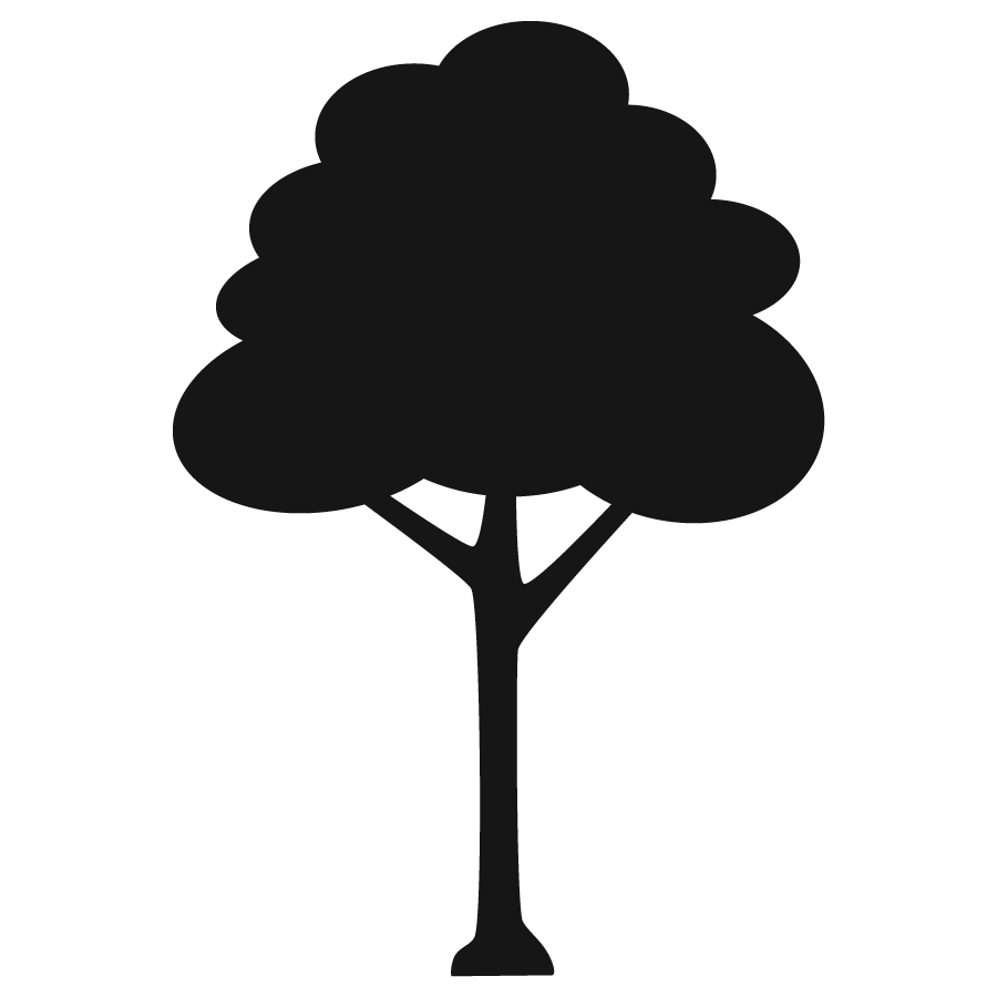 Tree Icon Png Tree Icon, Bw image #1519