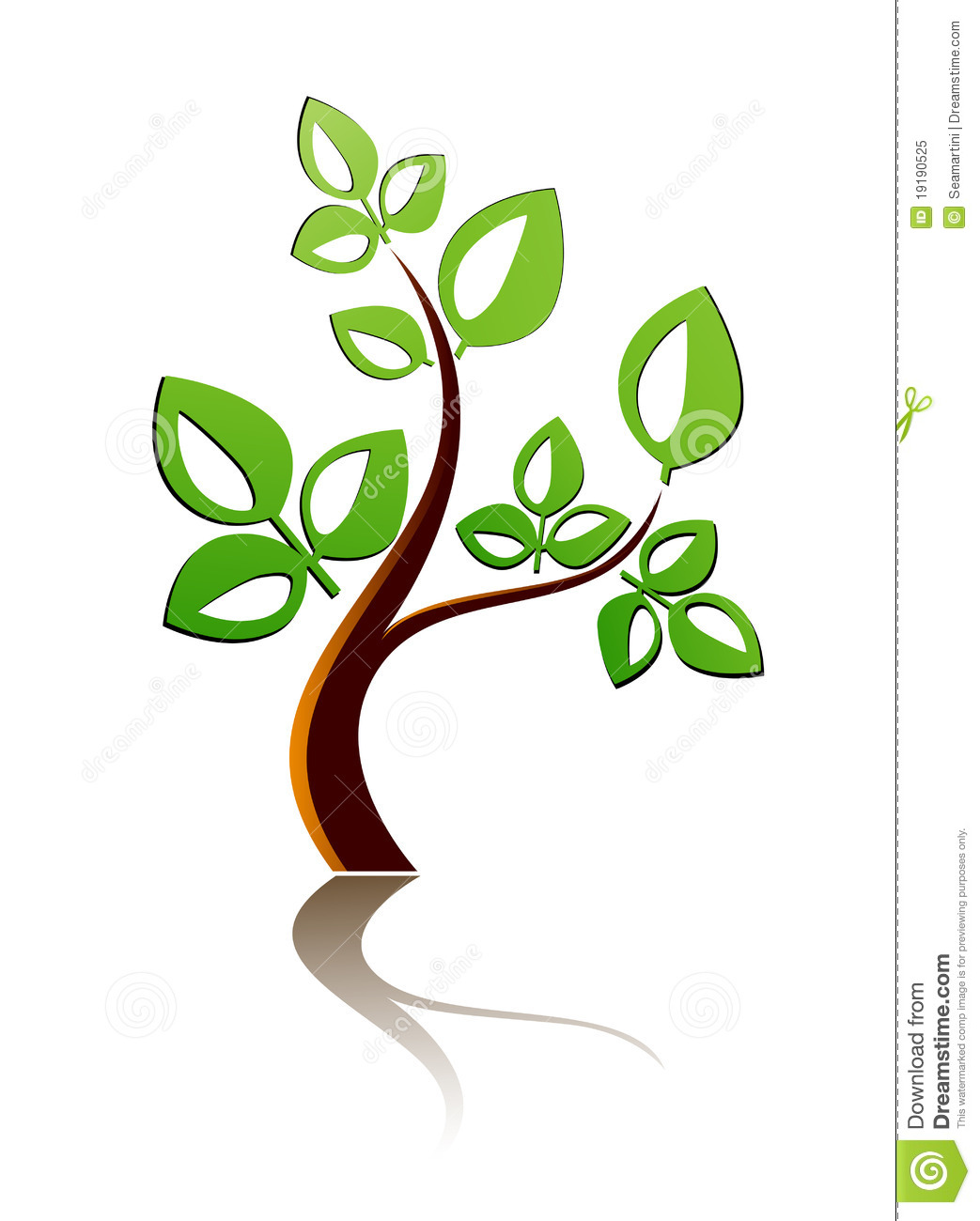 Tree Icon Royalty Free Stock Photo   Image: 19190525 image #1531