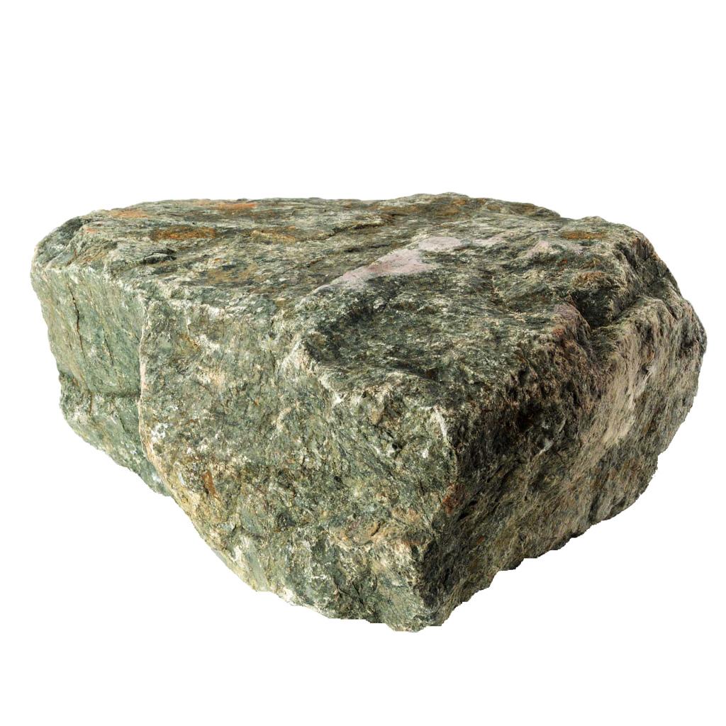 Triangle white rock vector image