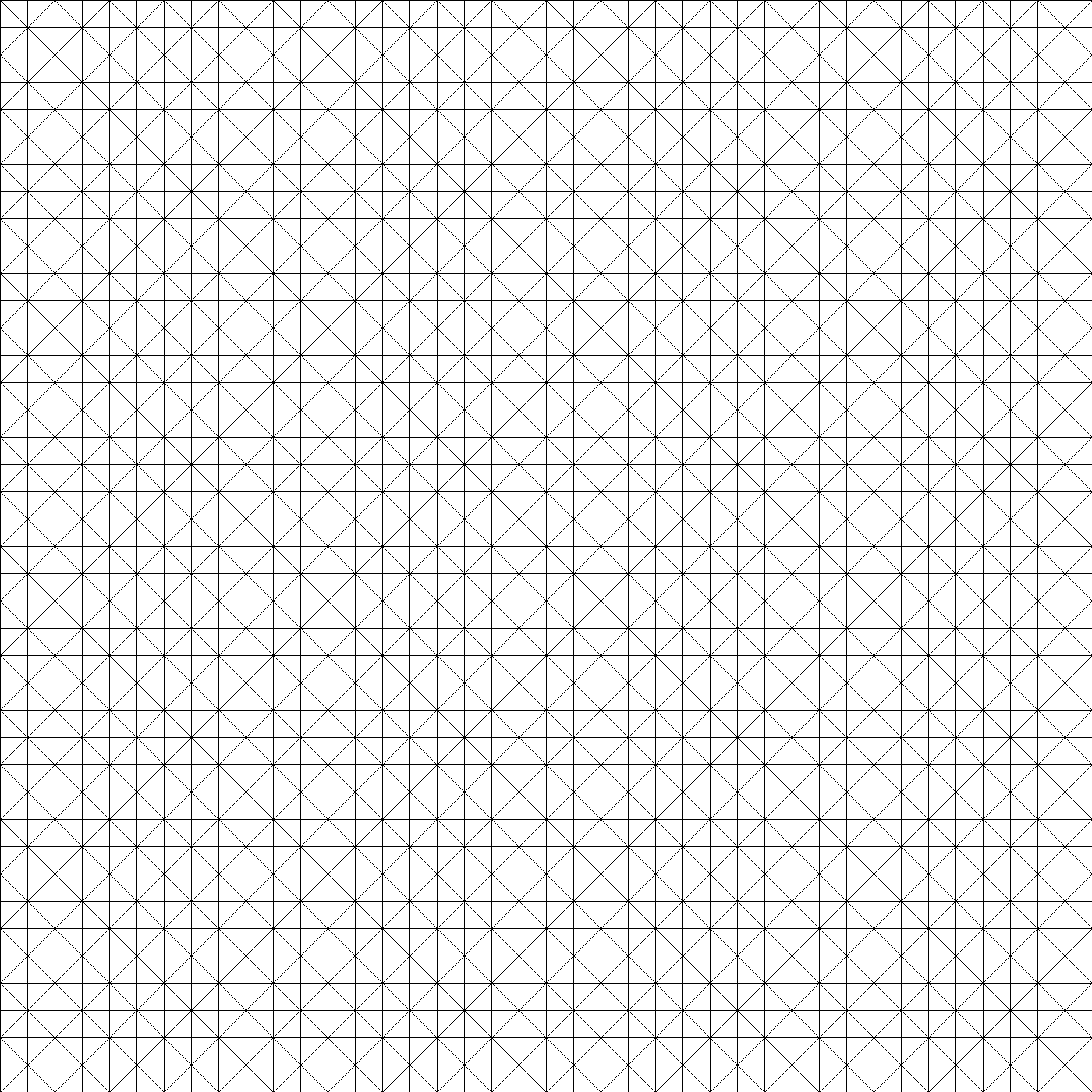 Triangulated grid png