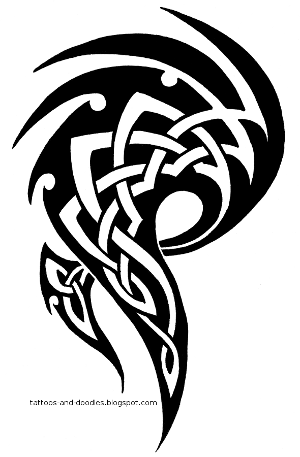 Tribal Celtic Tattoos Png image #19369