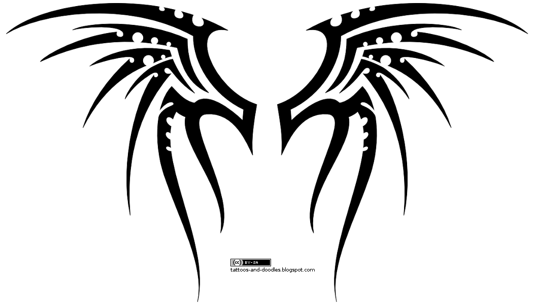 Tribal Skull Tattoos Clip Art image #30746
