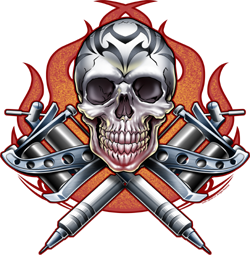Tribal Skull Tattoos Png image #30749