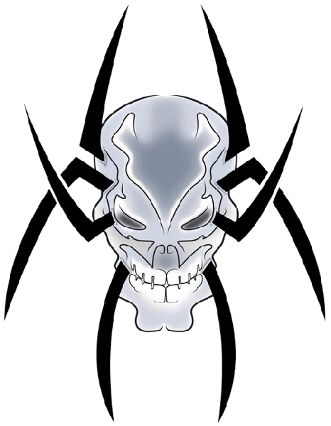 Tribal Skull Tattoos Png image #30750