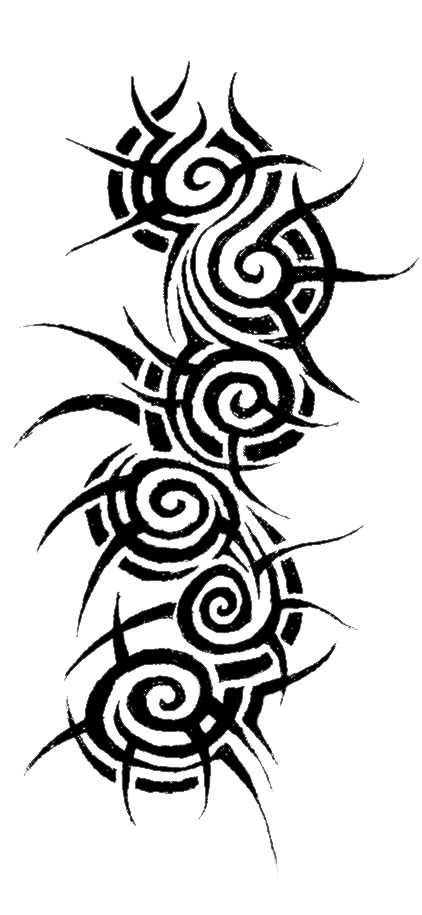 Tribal Tattoo PNG Image 39042