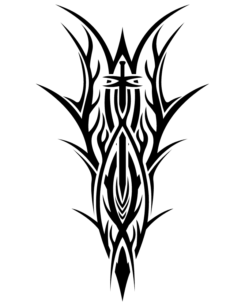 Tribal Tattoos Png image #19367
