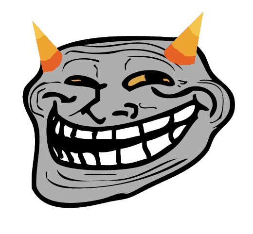 Transparent Image Troll Face PNG