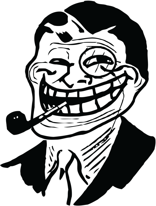 Picture Troll Face PNG image #19720