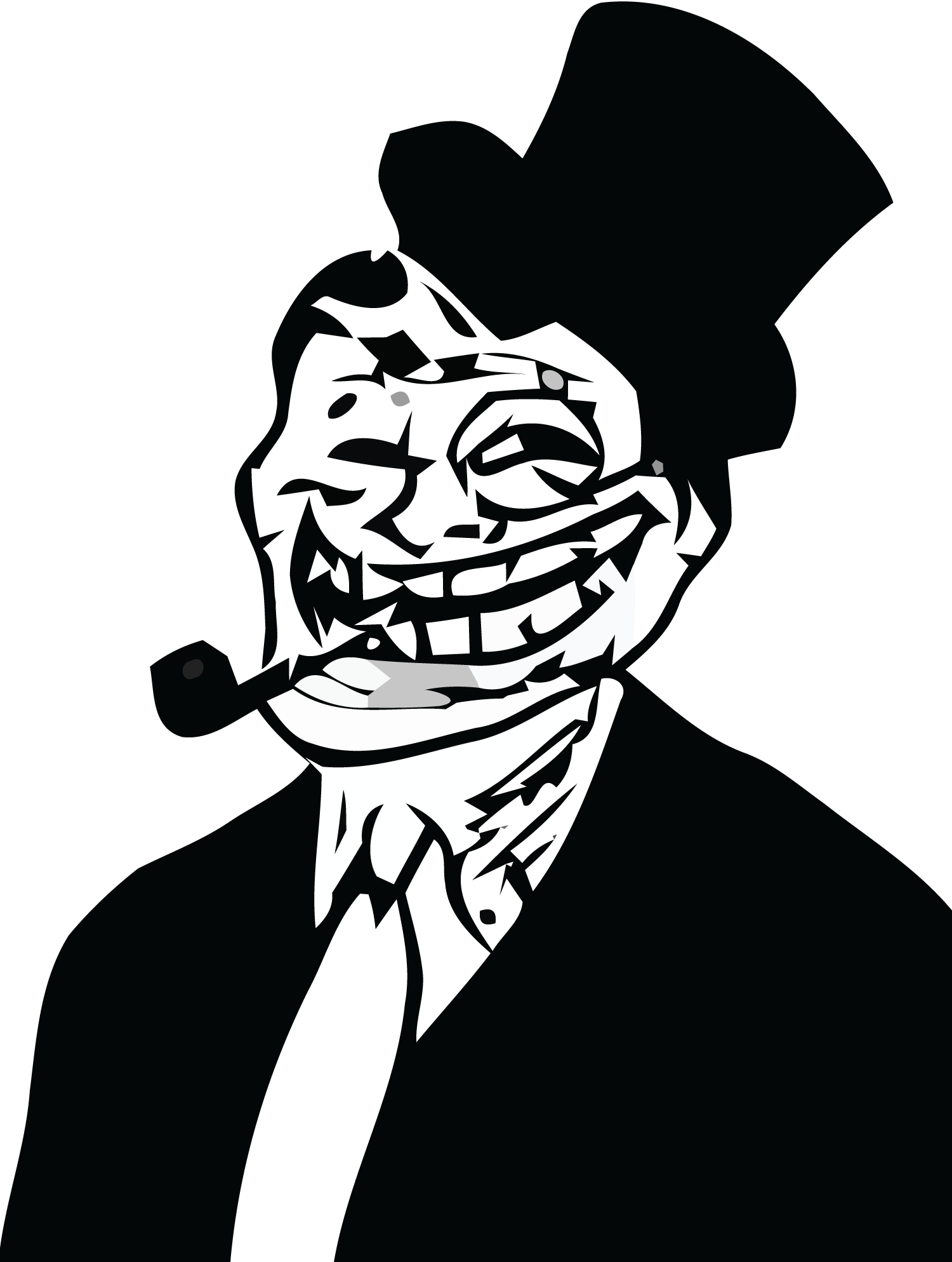 Download And Use Troll Face Png Clipart