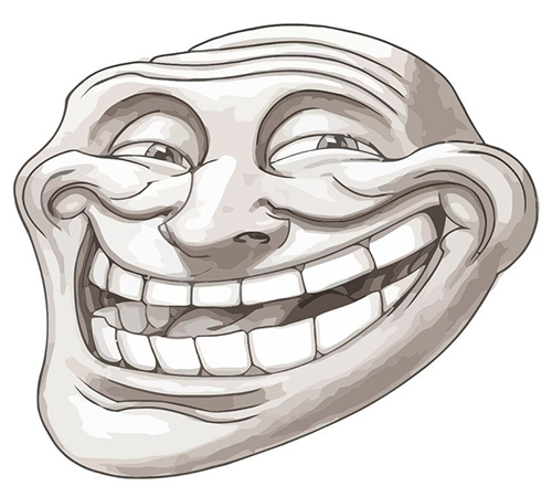 Troll Face Download Icon image #19708