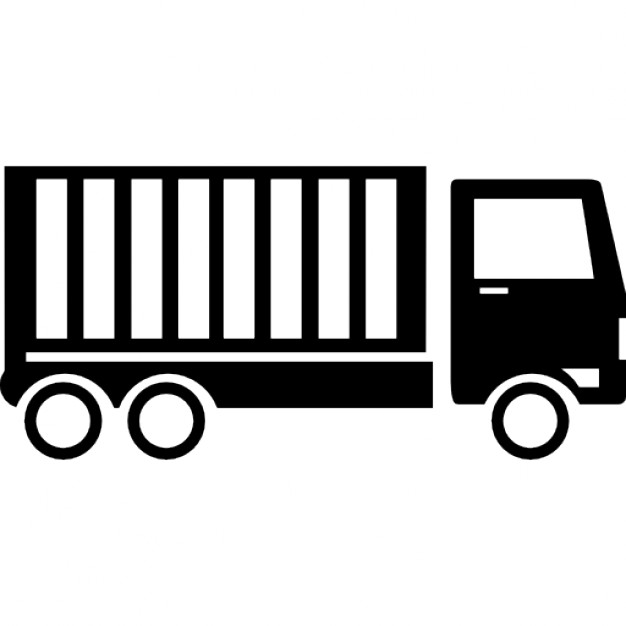 Truck Container Icon image #31785