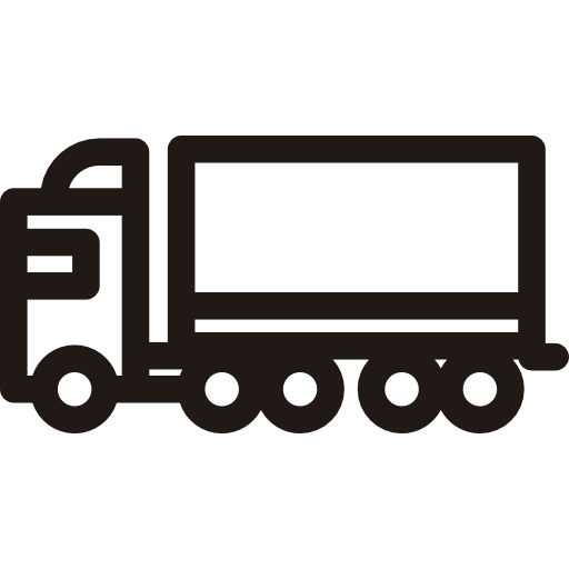 Truck Trailer Png Icon image #37594