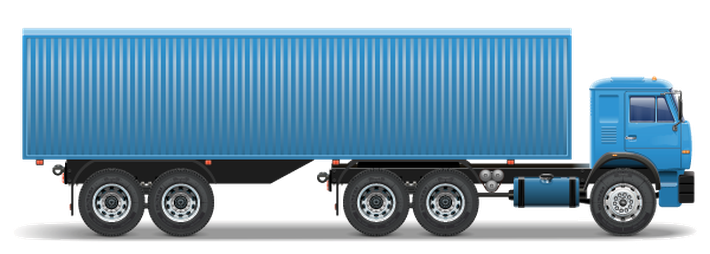 Simple Truck Trailer Png image #37597