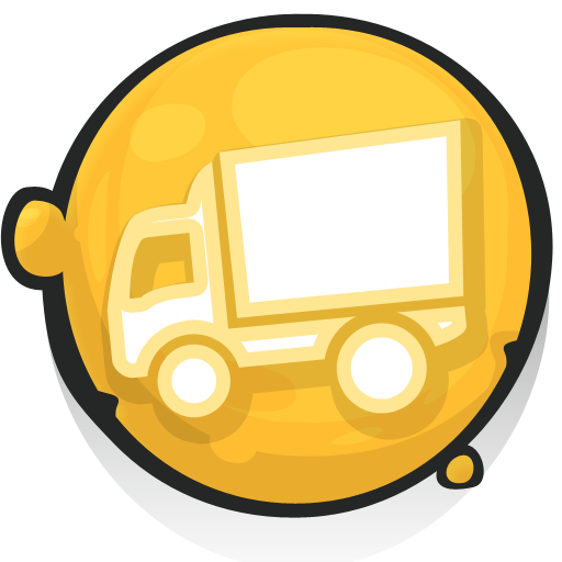 Truck Trailer Png Icon image #37602