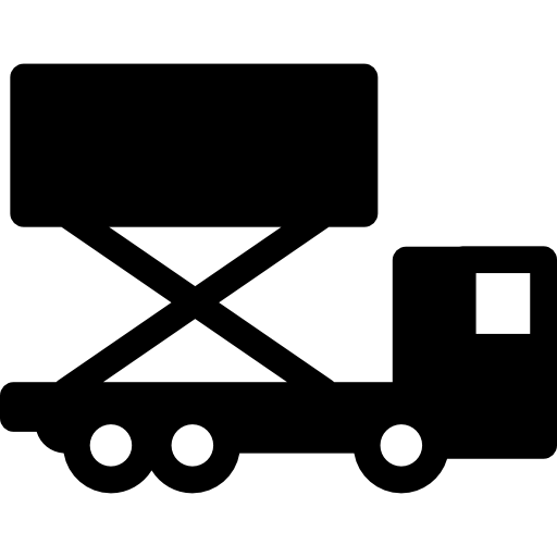 Icon Vector Truck Trailer image #37588