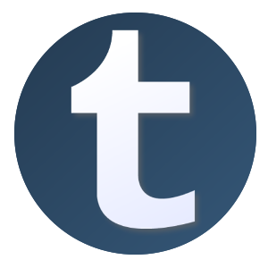 Tumblr Logo Icon Svg