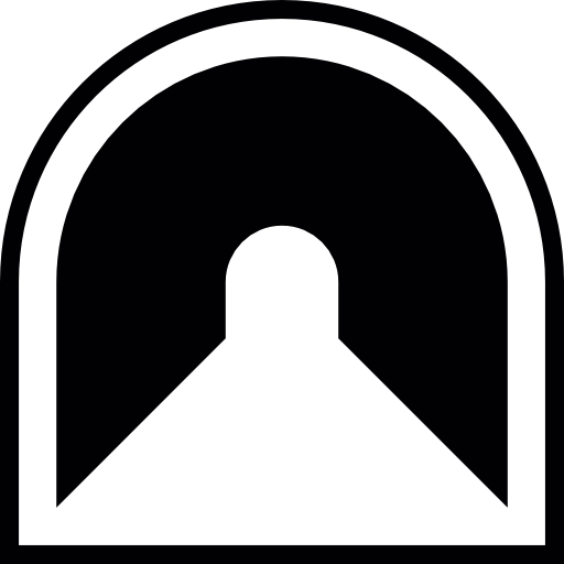 Tunnel Transparent Icon