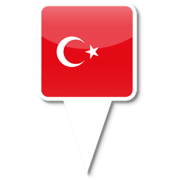 Icon Vector Turkey Flag image #20403